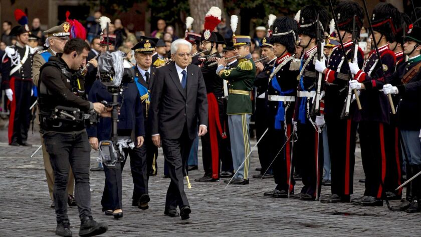 Italy's Armed Forces Day celebrations in Rome - 04 Nov 2018