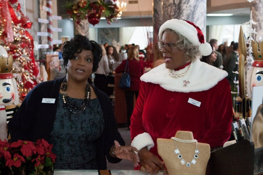 Madeas Christmas.Review Tyler Perry A Madea Christmas Is All Wrapping And