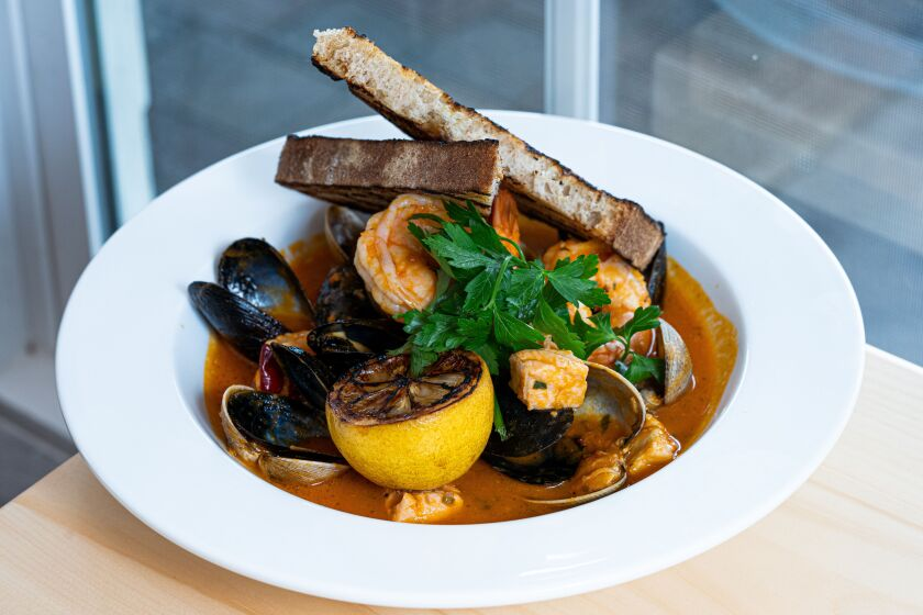 Candor's delightful Fisherman's Stew.