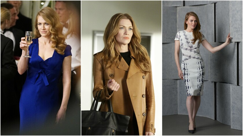 """Mireille Enos plays Alice Vaughan, a private investigator living in Los Angeles, in """"The Catch"""" on A"""