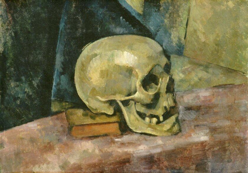 "Paul Cezanne's ""Still Life with Skull"""