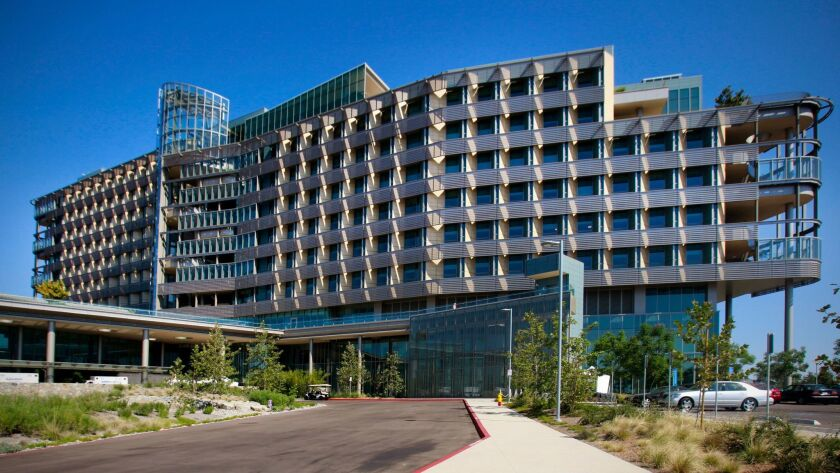 The new Palomar Medical Center began accepting patients Sunday.