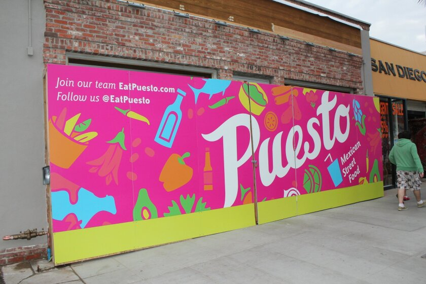 1026 Wall Street: The future home of Puesto Mexican eatery.