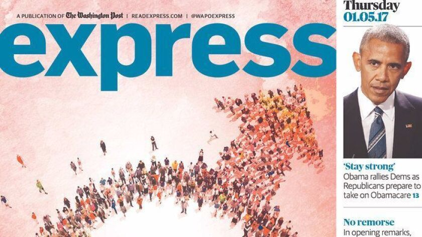 Washington Post Express male symbol cover