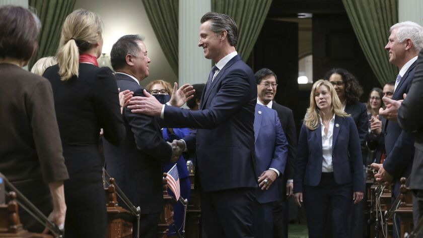 Phil Ting, Gavin Newsom