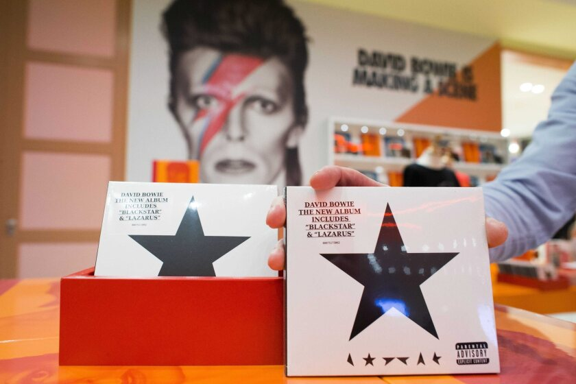 David Bowie 'Blackstar' was released days before his death.
