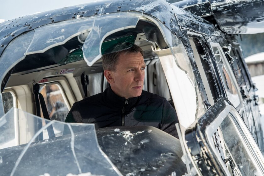 "In this image released by Metro-Goldwyn-Mayer Pictures/Columbia Pictures/EON Productions, Daniel Craig appears in a scene from the James Bond film, ""Spectre."" The movie releases in U.S. theaters on Nov. 6, 2015. (Jonathan Olley/Metro-Goldwyn-Mayer Pictures/Columbia Pictures/EON Productions via AP)"