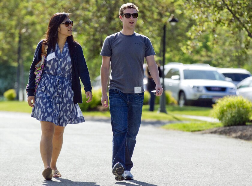 In February, the Chronicle of Philanthropy unveiled its 2013 list of America's top givers to charity. For the first time in history, the top living donors, Mark Zuckerberg and his wife, Priscilla Chan, gave their money ($996 million) to a donor-advised fund set up with the Silicon Valley Community Foundation.