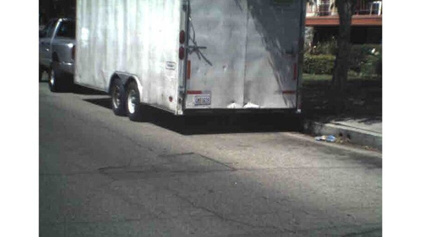 Trailer containing art stolen in Chatsworth