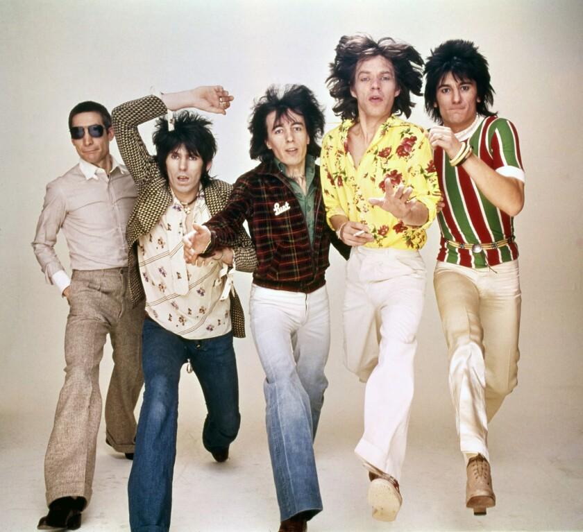 CROSSFIRE HURRICANE: Charlie Watts, Keith Richards, Bill Wyman, Mick Jagger, Ronnie Wood. of the ROL