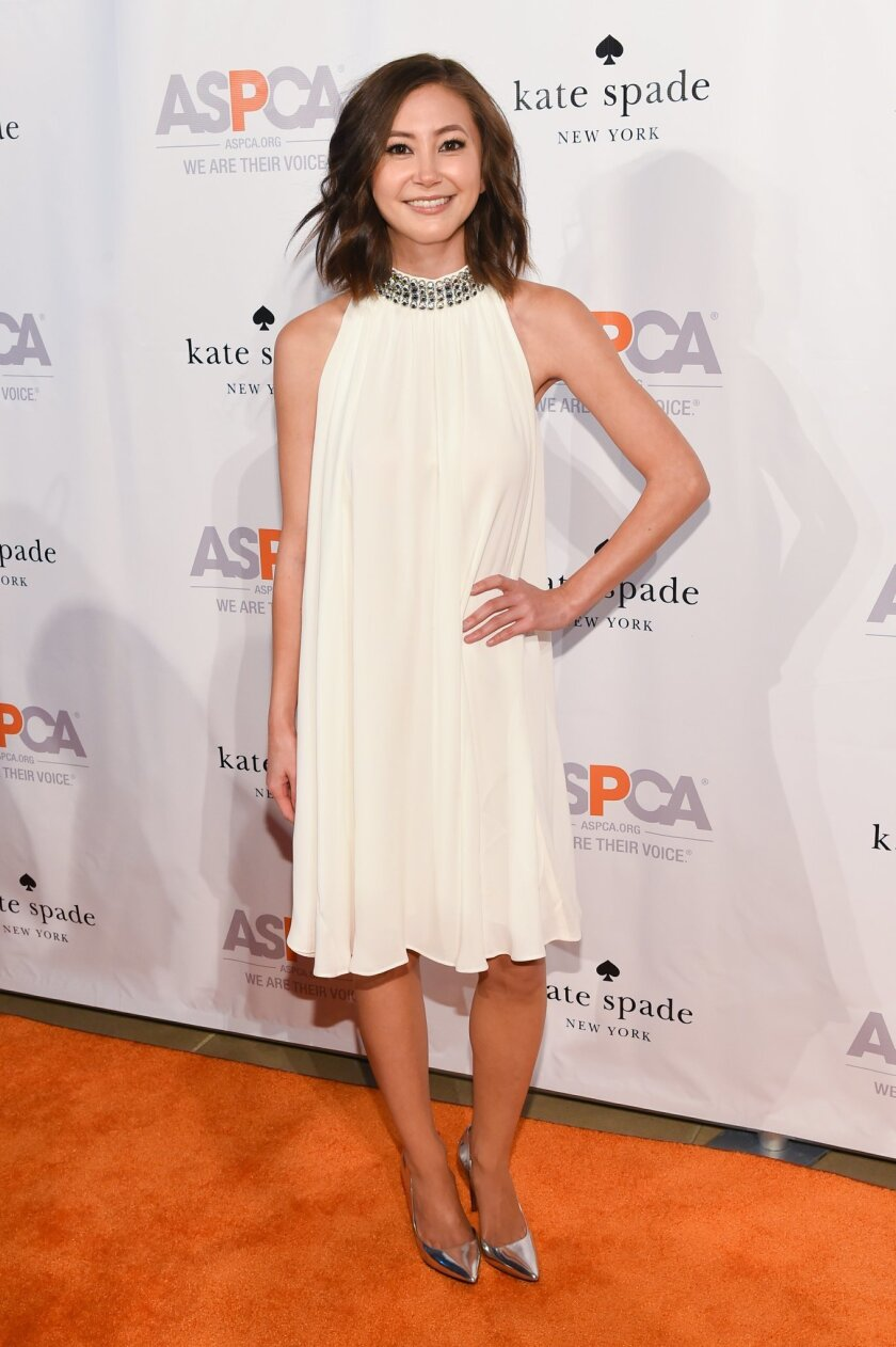 """FILE - In this Oct. 15, 2015 file photo, actress Kimiko Glenn attends the ASPCA Young Friends Benefit in New York. Glenn, who plays as Brook Soso in the award-winning Netflix series, """"Orange is the New Black,"""" will co-star in the musical adaptation of the 2007 film """"Waitress"""" with songs by pop star"""