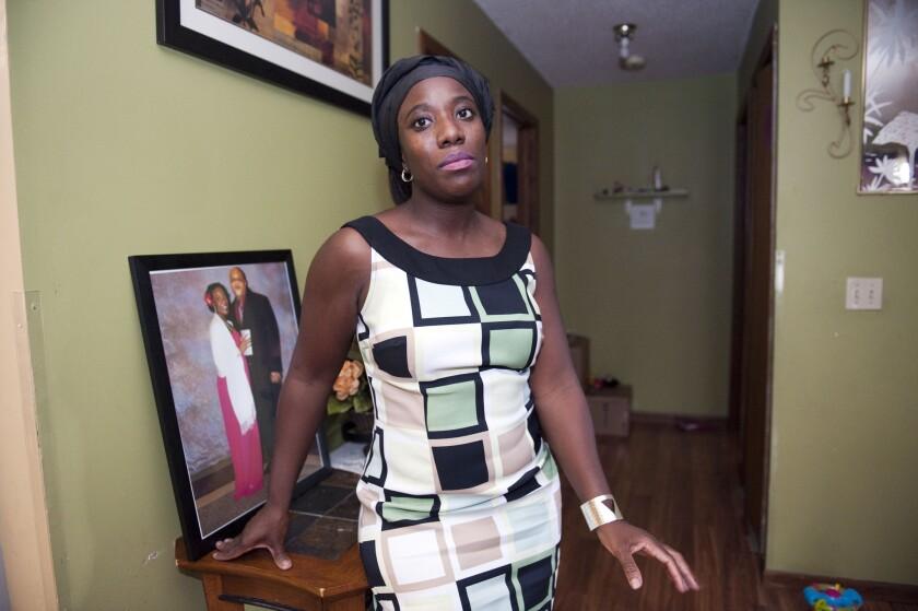 Decontee Sawyer, wife of suspected Ebola victim
