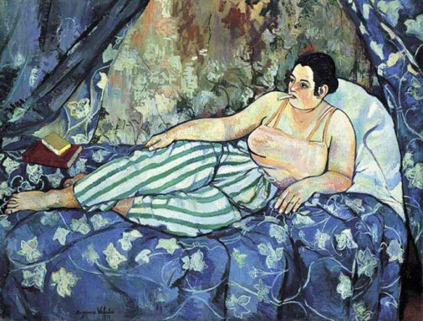 """VIVE LA FEMME: Suzanne Valadon's """"La Chambre bleue"""" from 1923 is part of the exhibition."""