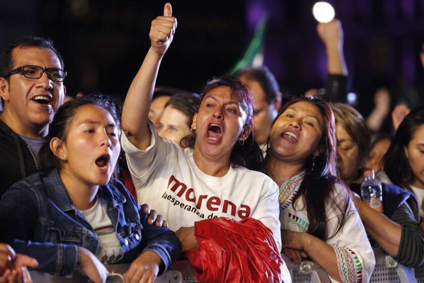 López Obrador agradece a oponentes admitir que ganó Presidencia de México
