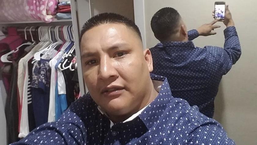 Joel Arrona Lara, migrante mexicano.