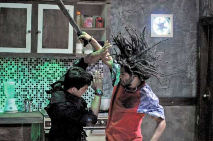"""A scene from """"The Raid: Redemption."""""""