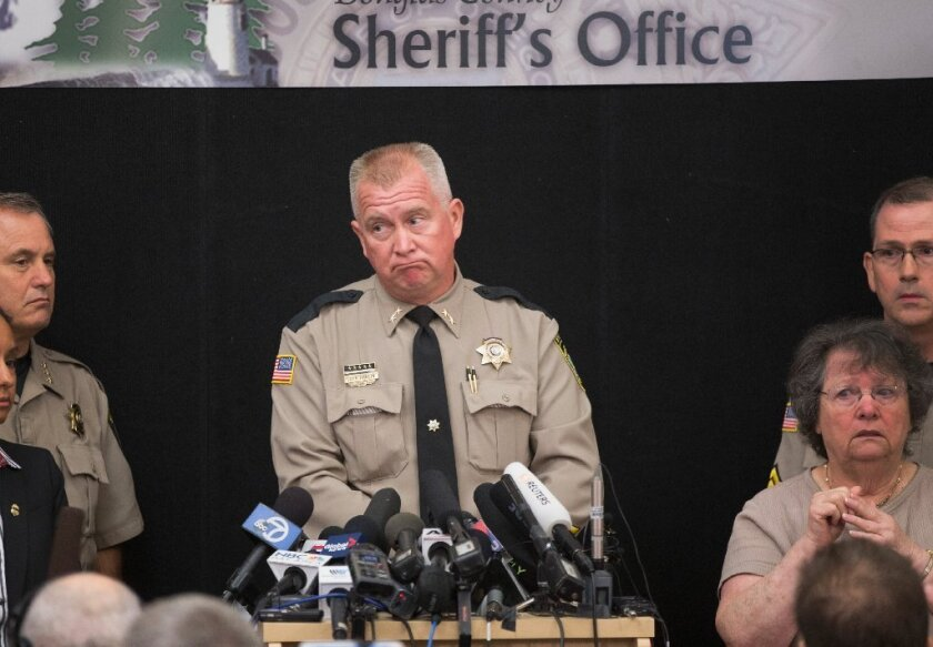 "Douglas County Sheriff Jeff Hanlin says he doesn't want to ""glorify"" the actions of mass shooter Chris Harper-Mercer by speaking his name. He may be onto something: Those who study mass shootings and those who commit them say fame is often an important motive."