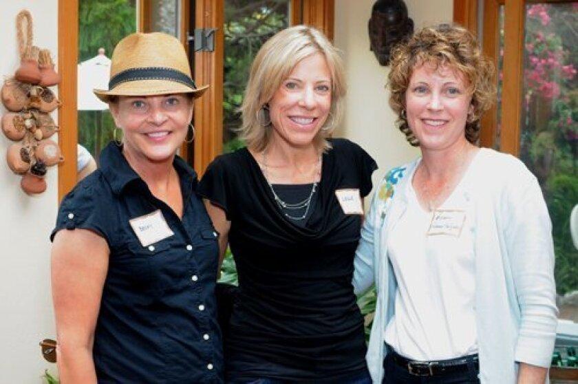 Becky Bartling, Leslie Karr, Kristin Peterson-Salgado