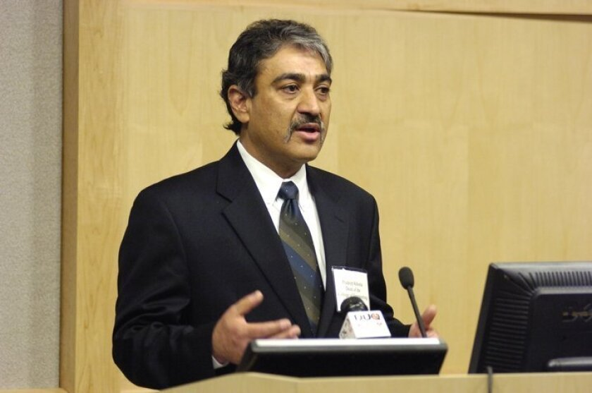 Pradeep Khosla, currently dean of the Carnegie Mellon University College of Engineering, will take the reins as UC San Diego's new chancellor Aug. 1.