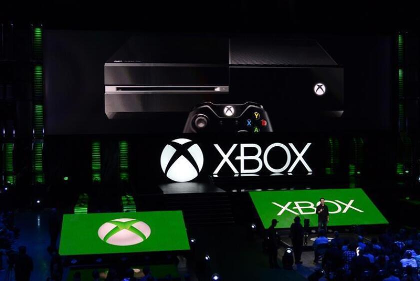 Microsoft presentó las principales novedades de su catálogo de videojuegos para su consola Xbox de cara la segunda mitad de 2014 y principios de 2015 en un evento celebrado en Los Ángeles, el 9 de junio de 2014. EFE/Archivo
