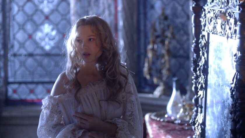 """Lea Seydoux in the movie """"Beauty and the Beast."""""""
