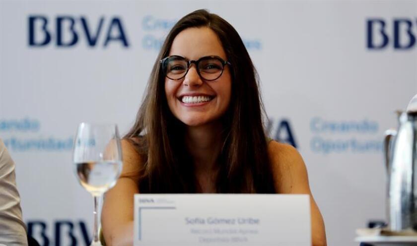 La apneista colombiana Sofía Gómez Uribe. EFE/Archivo