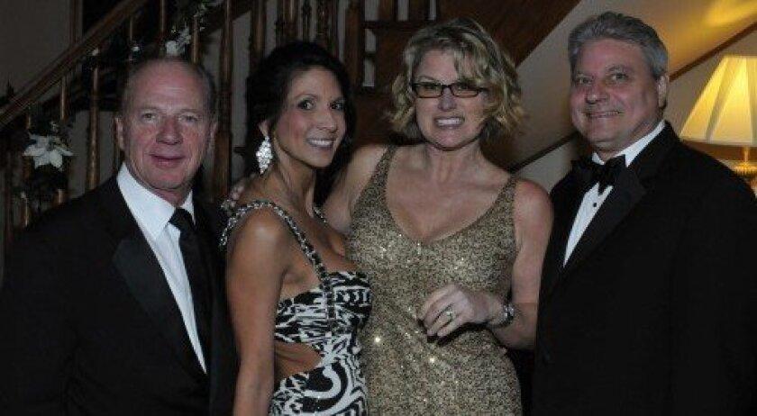 Dr. Jack Wasserman, Tommie Juditz, Kim and Dr. John Gaidry (Photo: Rob McKenzie)