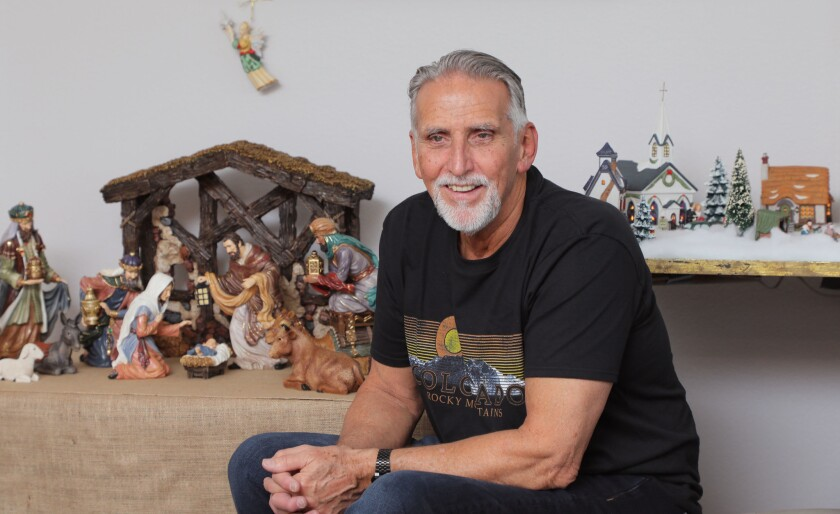 Craig Coley photographed in his Carlsbad home in November 2018.