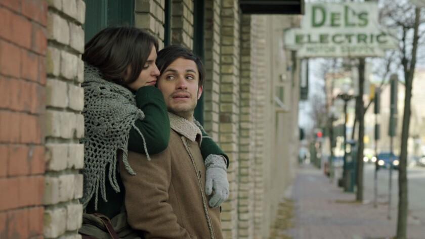 "Gael García Bernal and Verónica Echegui in the movie ""You're Killing Me Susana."""