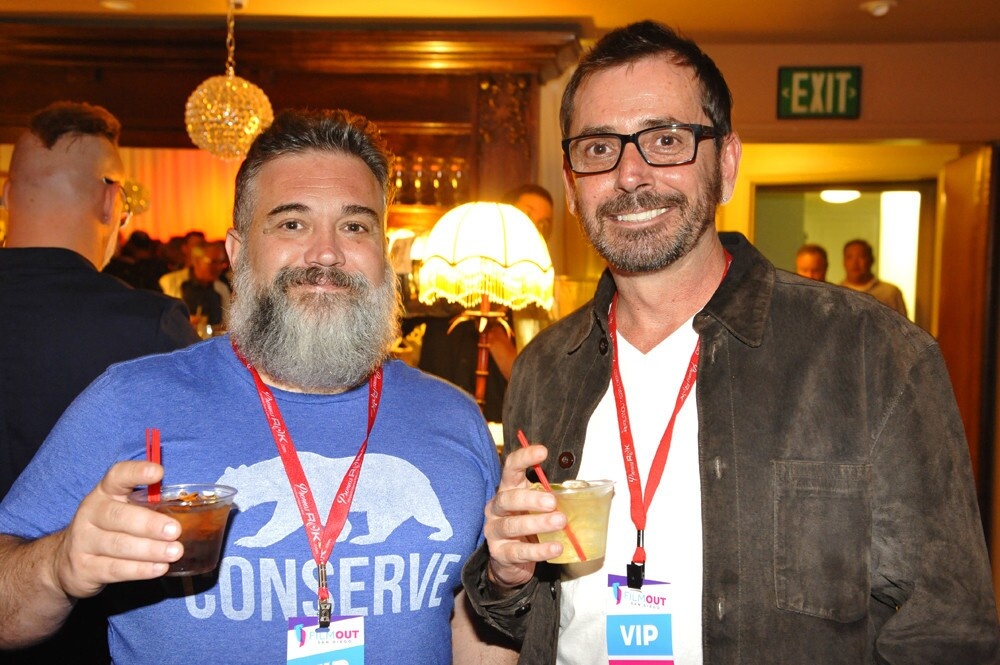 FilmOut San Diego's 19th Annual LGBT Film Festival kicked off on Friday, June 9, 2017 with a screening at The Observatory North Park and an after party at the Sunset Temple in North Park. (Jared Gase)