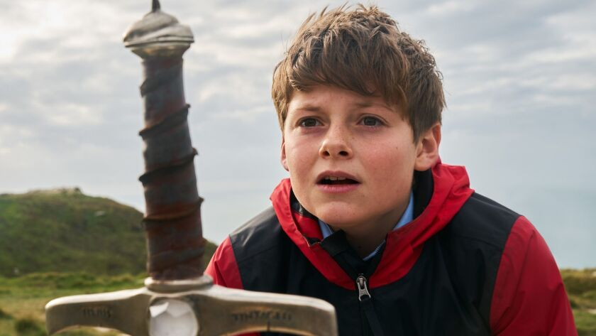 """Louis Ashbourne Serkis in """"The Kid Who Would Be King"""""""