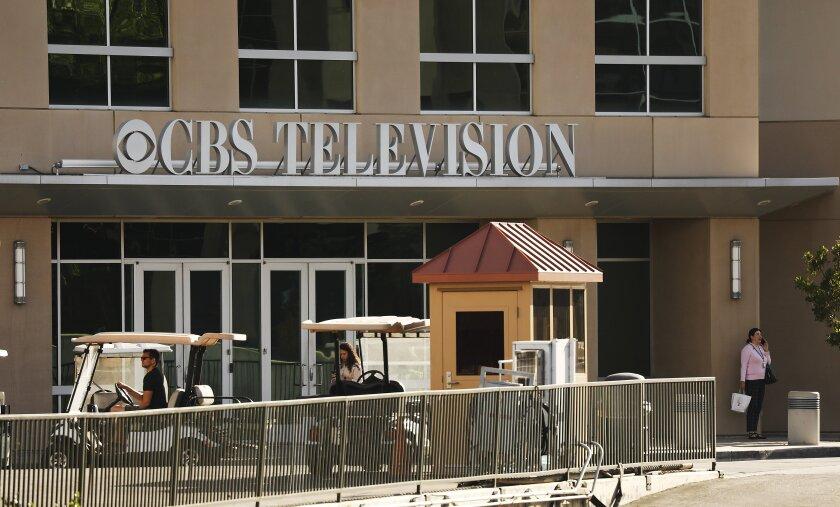 The Broadcast Center Building on the CBS Studios Center in Studio City.