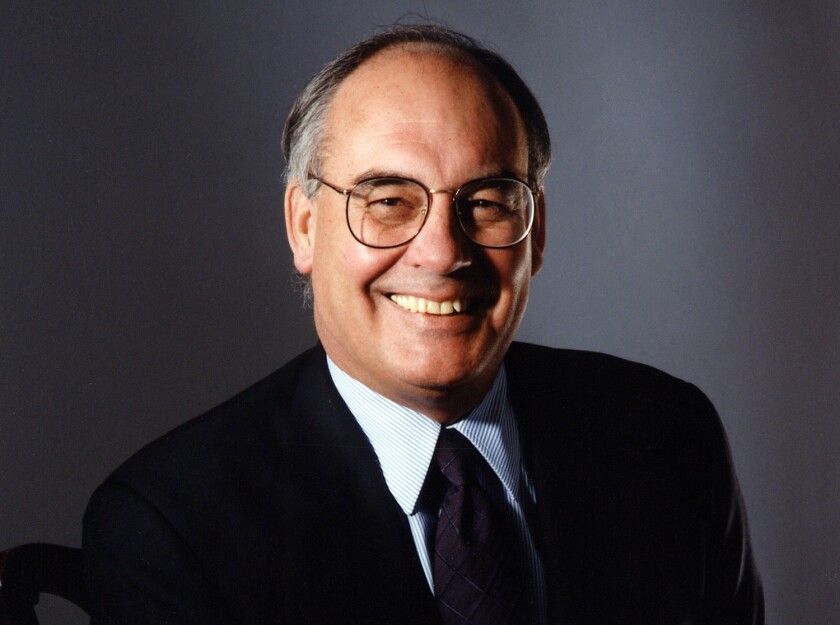 Roy Bostock, Yahoo Chairman.