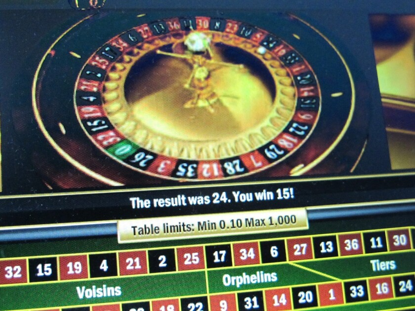 Internet gambling is growing worldwide, and is increasingly becoming a haven for money launderers, according to a report released Thursday.