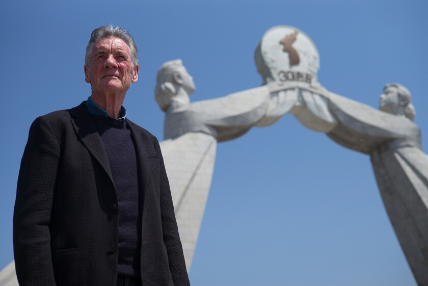 Monty Python's Michael Palin visits North Korea in a new documentary special airing on the National Geographic Channel.