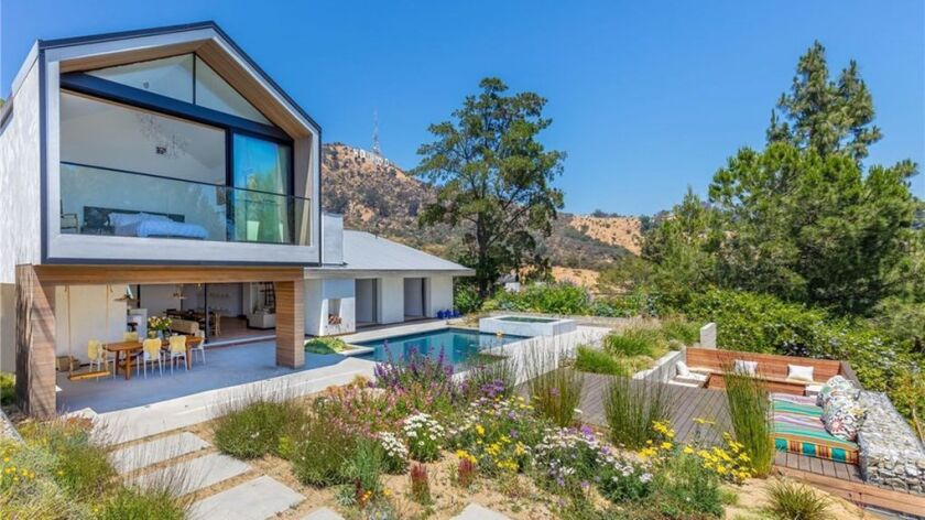 Alex Kingston's Hollywood Hills home   Hot Property