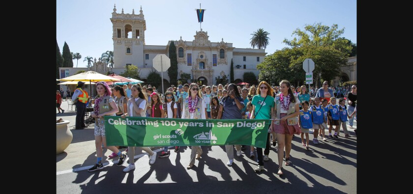 Girl Scouts celebrate 100 years in San Diego - The San Diego