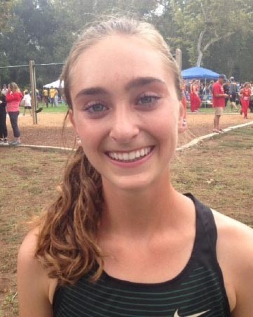 Skyler Wallace, Sage Creek high school girls cross country
