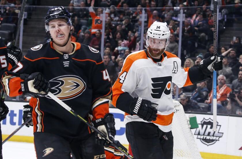Flyers Ducks Hockey
