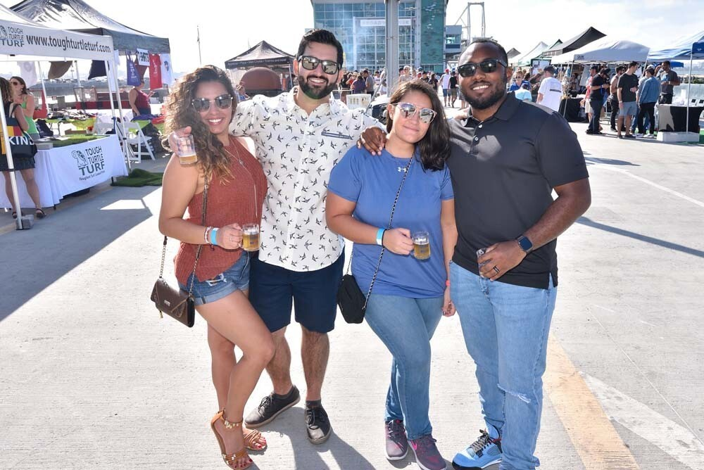 "Billed as ""San Diego's original beer festival,"" the 24th annual San Diego Festival of Beer raised money for cancer research at Broadway Pier on Saturday, Sept. 22, 2018."