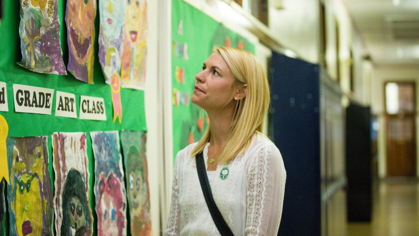 "Claire Danes in Silas Howard's ""A Kid Like Jake."""
