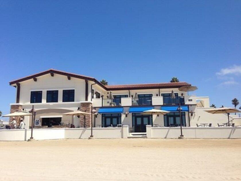 Beach view of La Casa Event Center opening at the Del Mar Beach Resort