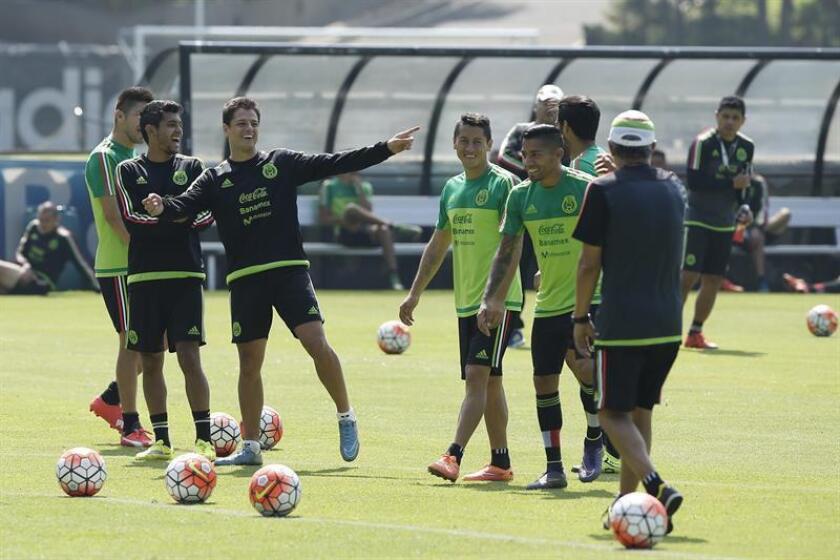 La selección mexicana, que dirige el colombiano Juan Carlos Osorio, jugará ante Escocia su último partido previo a su participación en la Copa del Mundo Rusia 2018. EFE/Archivo