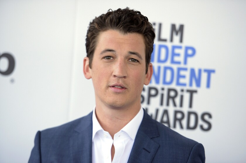 Actor Miles Teller is out of jail after being arrested for public drunkenness. San Diego Police officer Billy Hernandez says the 30-year-old actor was arrested Sunday morning, June 18, after officers spotted him swaying and falling into the street. (Richard Shotwell/Invision/AP, File)