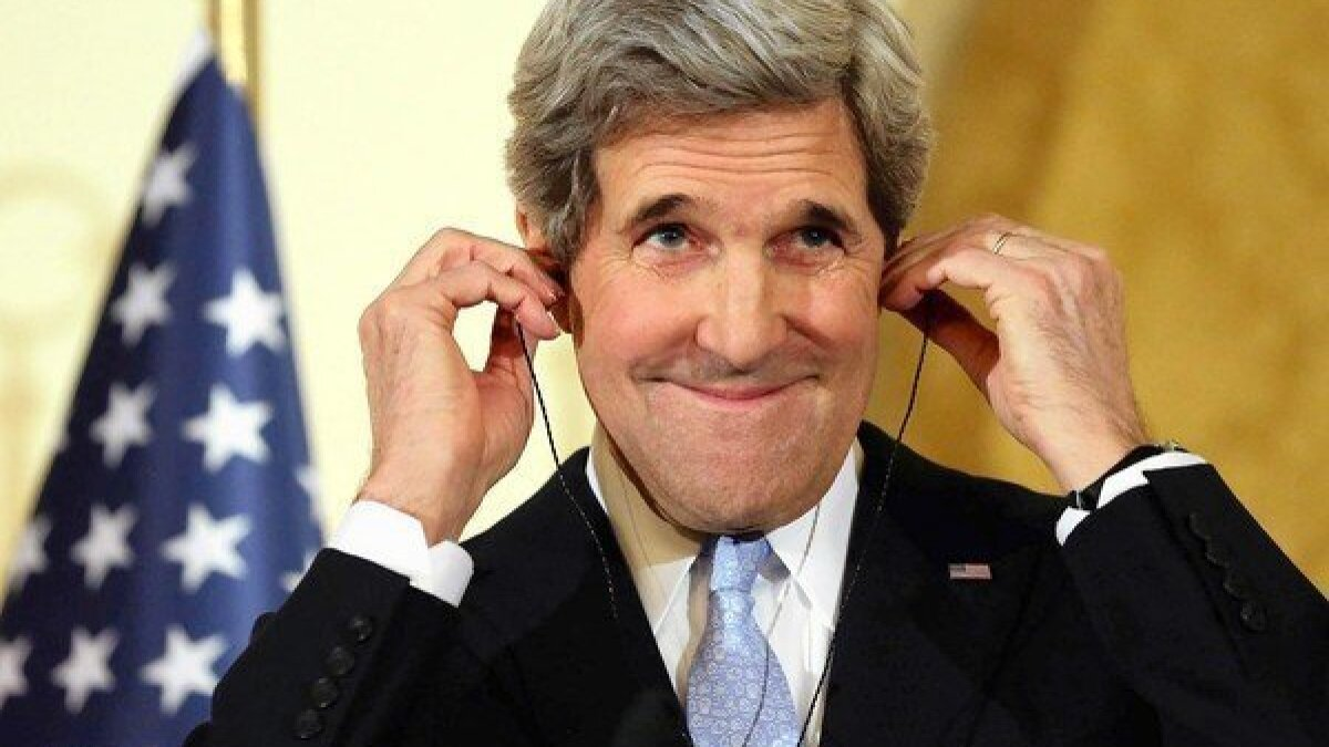 John Kerry finally gets to let his Europhilia loose - Los Angeles Times