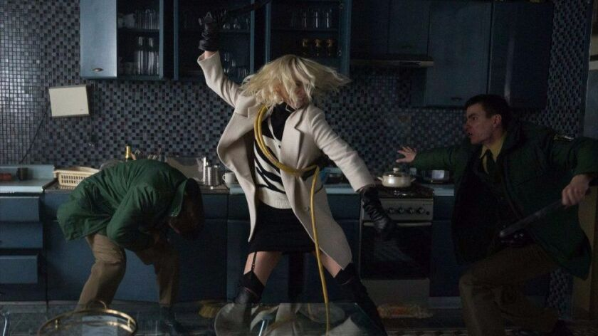 """Atomic Blonde"" stars Charlize Theron as MI6's most lethal assassin in a ticking time bomb of a city"