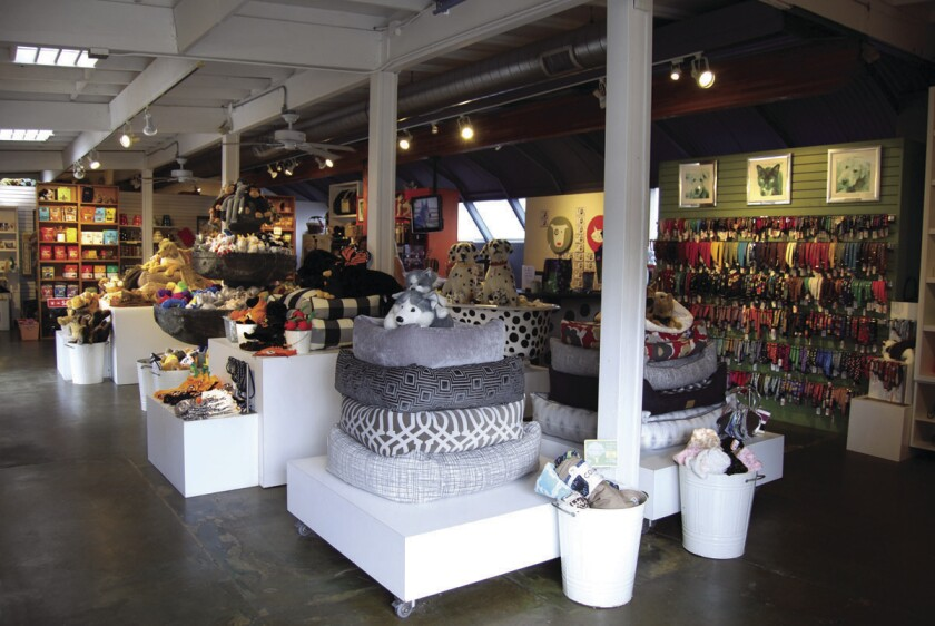 Muttropolis pet shop has locations in La Jolla and Solana Beach. (Courtesy photo)
