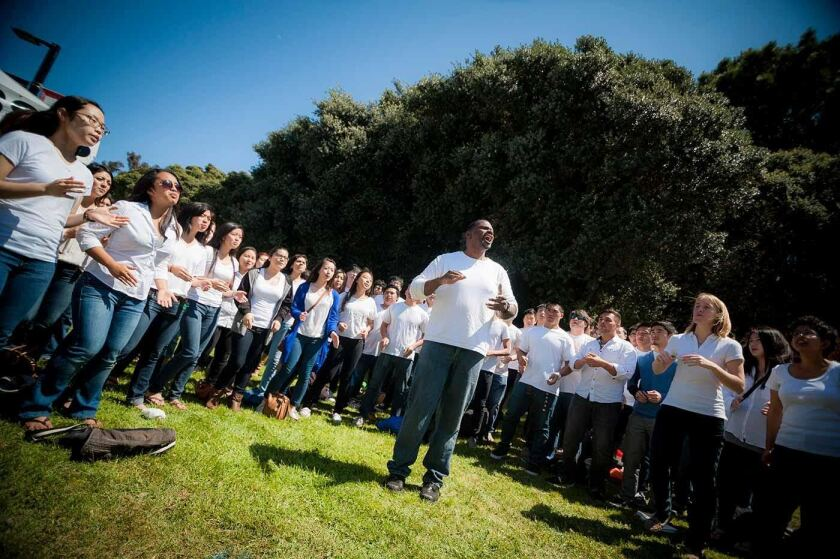 UCSD Gospel Choir directed by Ken Anderson