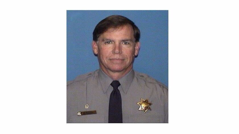 Alameda County sheriff's Deputy Michael Foley died Thursday after he was struck by a jail transport bus.