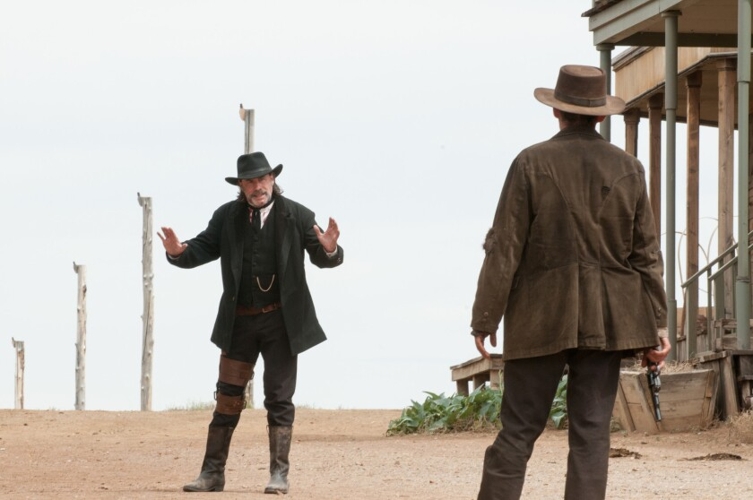 """John Travolta as the marshal in """"In a Valley of Violence."""""""